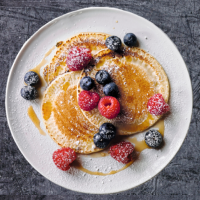 Dairy and gluten-free pancakes