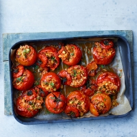 Greek-style-stuffed-tomatoes