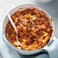 One-pot Cajun rice and beans