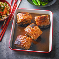 Braised sweet & sour pork belly