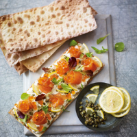 Heston's party flatbreads