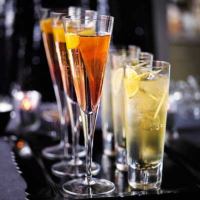 Heston's champagne punch
