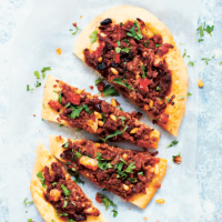 Spiced lamb flatbreads