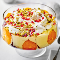 Martha Collison's orange & pomegranate trifle