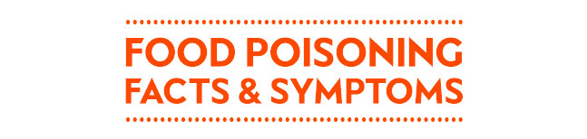 Food poisoning - facts and symptoms