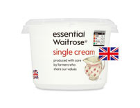 essential Waitrose Single Cream