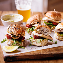 Mackerel buns with chorizo mayo recipe