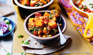 butternut and chick pea curry