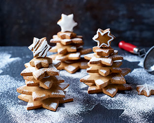 Gingerbread Christmas trees