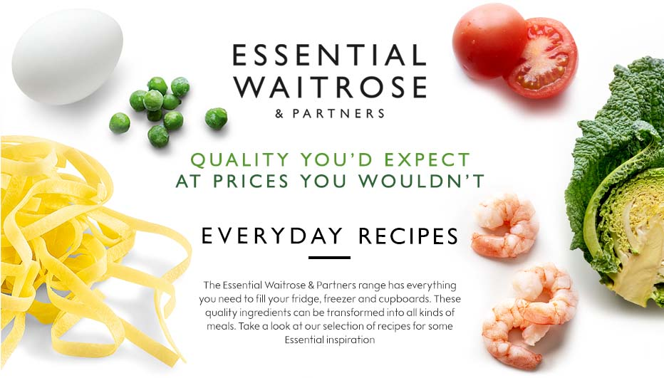 Waitrose essentials everyday meals