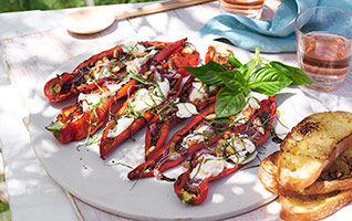 Italian roasted peppers