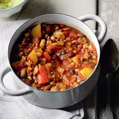 The ultimate 10 bean chilli