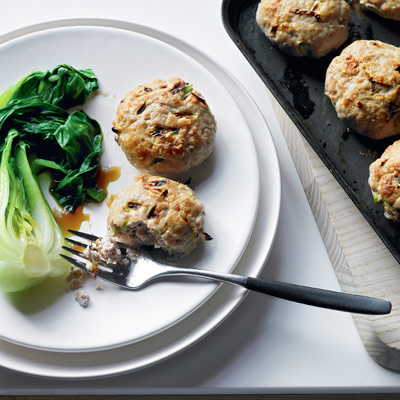 Tuna and wasabi fish cakes