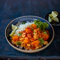 Jamaican-style-veggie-curry