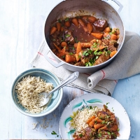 LOVE life African spiced summer beef stew