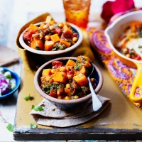 LOVE life butternut and chick pea curry