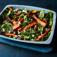 Roasted-Carrots-with-spinach
