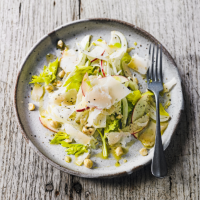 Apple, fennel & hazelnut salad with Gouda