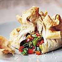 Easy Vegetable Parcels
