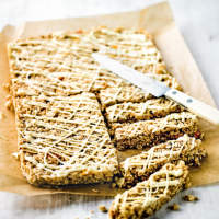Martha Collison's mango & passion fruit energy bars