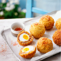 Martha's smoky Scotch eggs