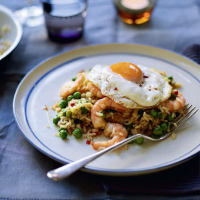 Nasi goreng with fried egg
