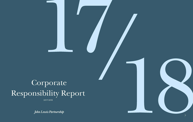 Corporate Responsibility Report 2017/2018