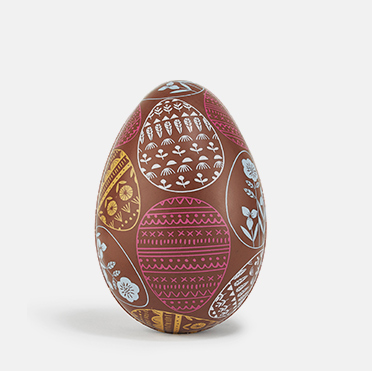 Arabica coffee milk chocolate egg