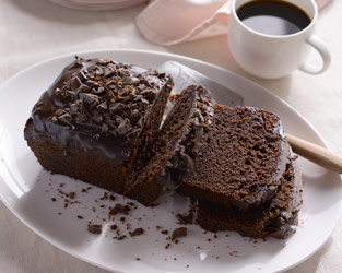 Chocolate & sweet potato loaf cake