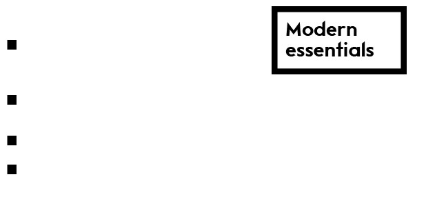 Modern_essentials