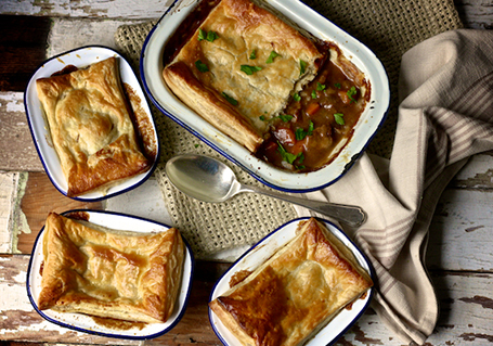Northumbrian Steak and Ale Pies