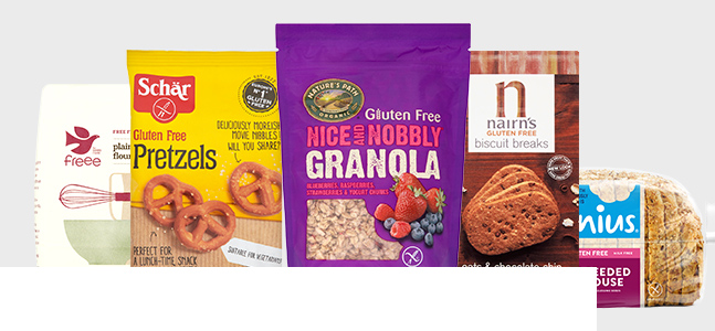 Shop gluten-free products