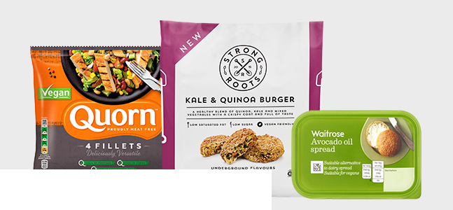 Shop vegan products