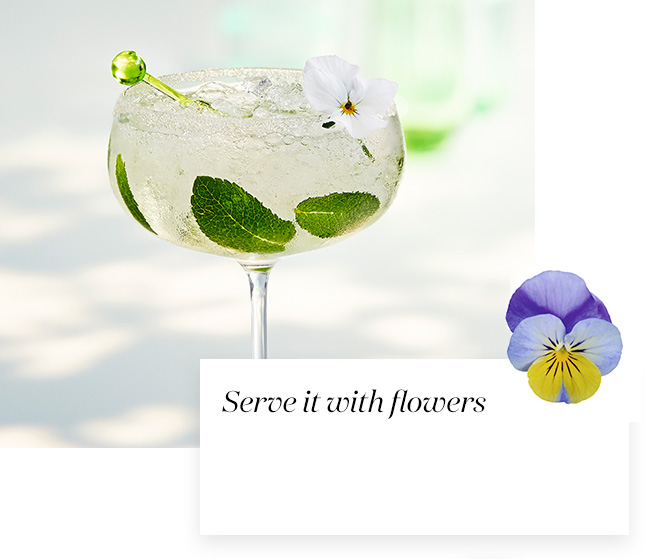 Flower cocktail