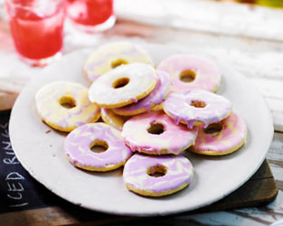 Martha's iced ring biscuits