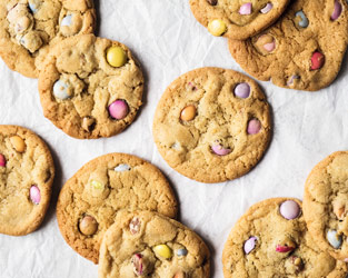 Martha's Smarties cookies