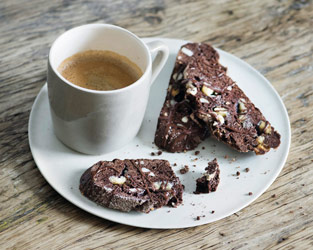 Martha Collison's triple chocolate biscotti