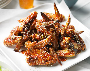 Heston's barbecue chicken wings