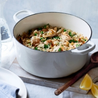 Cinnamon & lemon chicken pilaf