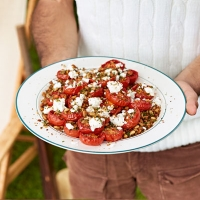 slow-roast tomato salad