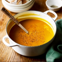 Spiced apple and squash soup