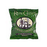 Real crisps strong cheese and onion