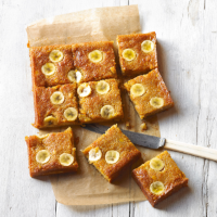 Banana and toffee sticky cake