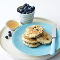 Blueberry drop scones