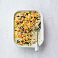 Crayfish & dulse mac & cheese