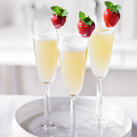 Elderflower Bellini