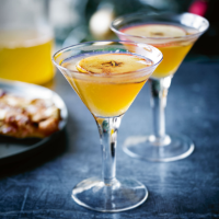 Heston's warm toffee martini