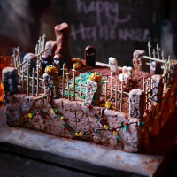 Heston's ultimate Halloween cake