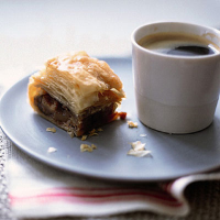 Mulled fruit baklava