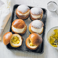 Martha Collison's Scandi Lent buns (semlor)